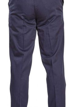 Klasikinio stiliaus tamsiai mėlynos spalvos vyriškos kelnės