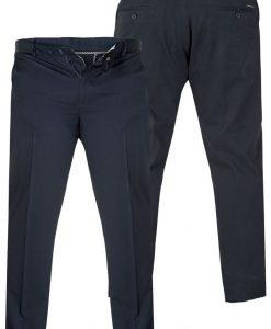 """Klasikinio stiliaus tamsiai mėlynos spalvos vyriškos kelnės """"Bruno"""" inernetu pigiau"""