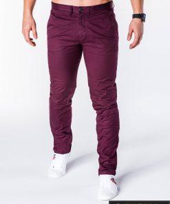 """Klasikinio stiliaus bordo spalvos vyriškos kelnės """"Dali"""" internetu pigiau"""