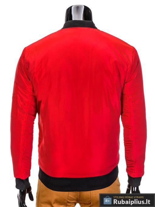 """Stilinga Raudonos spalvos vyriška striukė vyrams """"Joki"""" internetu pigiau"""