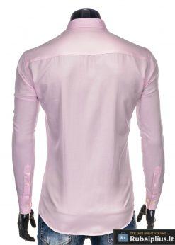 Stilingi Rožinės spalvos marškiniai vyrams