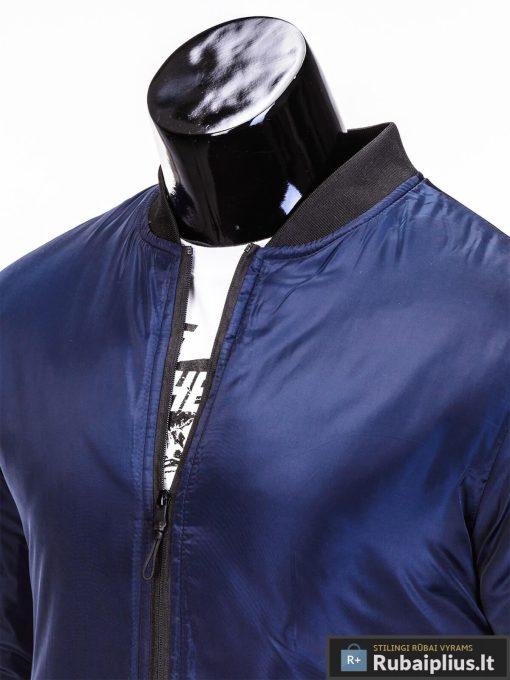 """Tamsiai mėlynos spalvos striukė vyrams """"Joki"""" internetu pigiau"""
