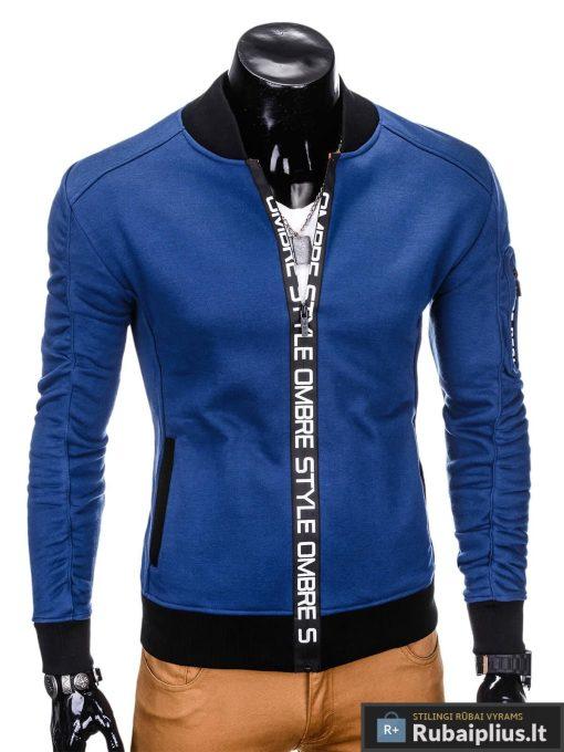 """Mėlynas vyriškas sportinis kostiumas vyrams """"Rido"""" internetu pigiau"""