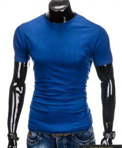 """Mėlynos spalvos marškinėliai vyrams """"Lak"""" internetu pigiau"""