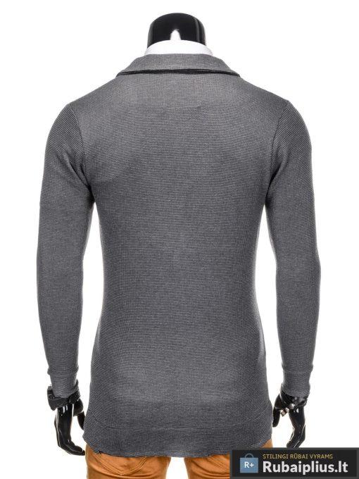 Tamsiai pilkos spalvos vyriškas švarkas vyrams internetu pigiau