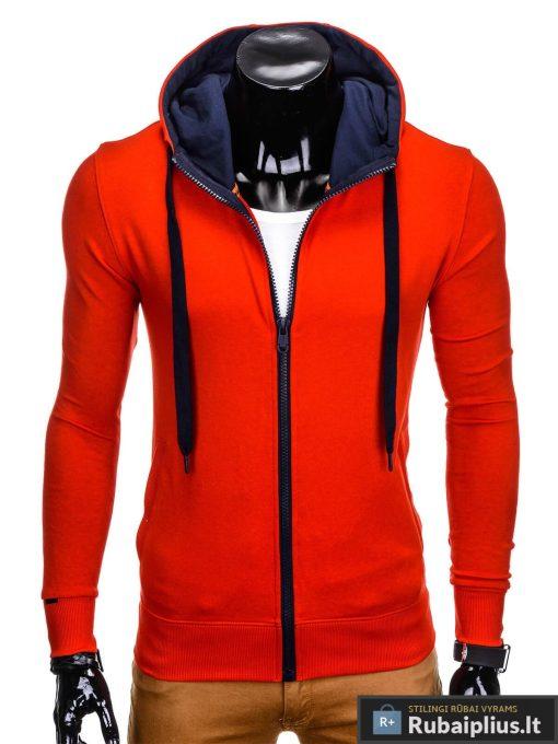 Raudonas džemperis vyrams internetu pigiau Fobi B485