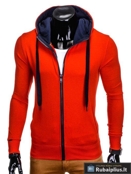 """Stilingas raudonas vyriškas džemperis vyrams """"Fobi"""" internetu pigiau"""