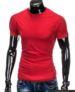 """Raudoni vyriški marškinėliai vyrams """"Lak"""" internetu pigiau"""