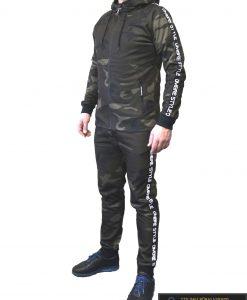 """Žalias Kamufliažinis vyriškas sportinis kostiumas vyrams """"Rido"""" internetu pigiau"""