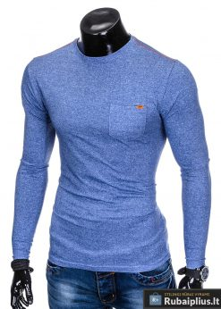 stilingi vyriški marškinėliai vyrams ilgomis rankovėmis internetu pigiau
