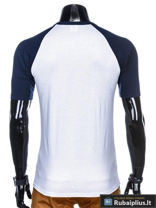 vyriški Balti mėlyni marškinėliai vyrams internetu pigiau