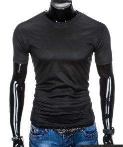 vyriški Juodi marškinėliai vyrams internetu pigiau tinka sportui