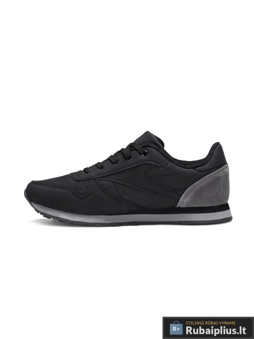 Juodos spalvos stilingi vyriški sportiniai batai vyrams internetu pigiau