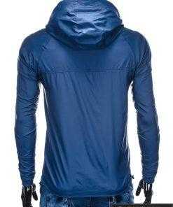 Vyriska pavasarine tamsiai mėlyna striukė vyrams internetu pigiau C352TM nugara
