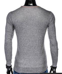 Pilki stilingi vyriški marškinėliai vyrams ilgomis rankovėmis internetu pigiau