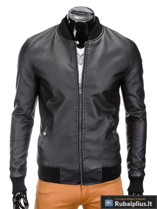 juoda-rudenine-vyriska-striuke-bandero-C333-1
