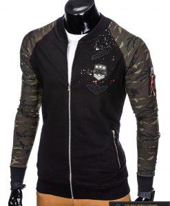 """Stilingas juodas vyriškas džemperis vyrams """"Fort"""" internetu pigiau"""