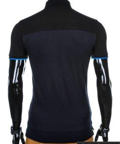 """stilingi Juodi-tamsiai mėlyni vyriški polo marškinėliai vyrams """"Gorton"""