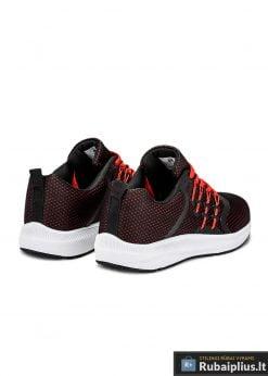 Madingi juodi laisvalaikio vyriški sportiniai batai vyrams