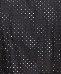 stilingi Juodi vyriški marškiniai ilgomis rankovėmis vyrams