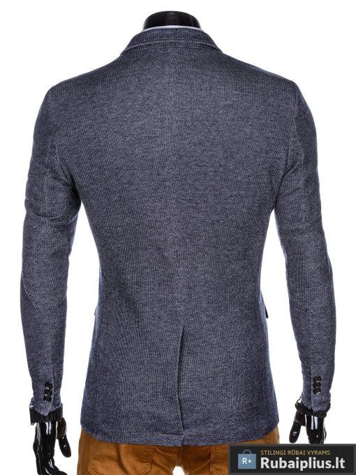"""Stilingas tamsiai mėlynasvyriškas laisvalaikio švarkas vyrams """"Fist"""" internetu pigiau"""