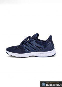 Madingi vyriški tamsiai mėlyni sportiniai batai vyrams
