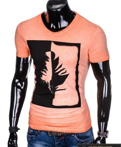 """Stilingi oranžiniai vyriški marškinėliai vyrams """"Gest"""" internetu pigiau"""