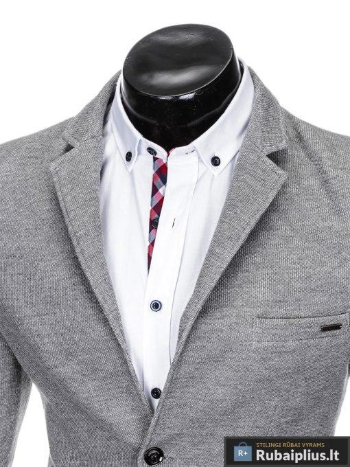 """Stilingas pilkasvyriškas laisvalaikio švarkas vyrams """"Fist"""" internetu pigiau"""