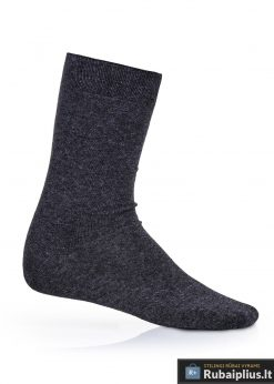 Tamsiai pilkos vyriškos kojinės vyrams