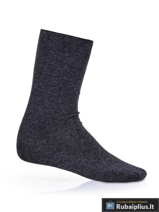 """Tamsiai pilkos vyriškos kojinės vyrams """"Step"""" internetu pigiau"""