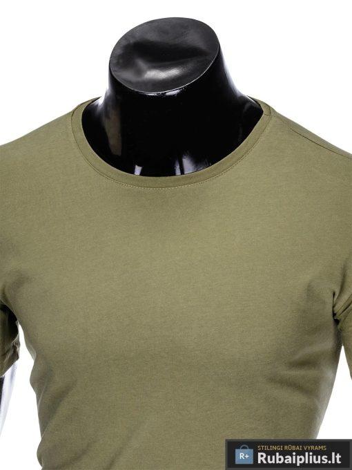 """vienspalviai Chaki vyriški marškinėliai vyrams """"Mak"""" internetu pigiau"""