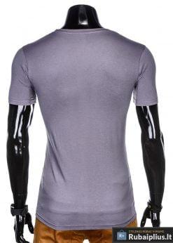 """stilingi Violetiniai vyriški marškinėliai vyrams """"End"""" internetu pigiau"""