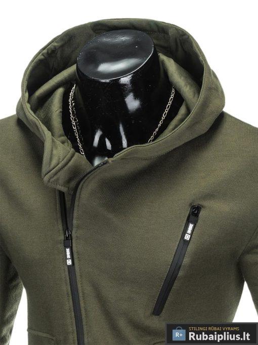 """Madingas chaki džemperis vyrams """"Flow"""" internetu pigiau"""