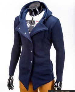 """Madingas tamsiai mėlynas vyriškas džemperis vyrams """"Jager"""" internetu pigiau"""