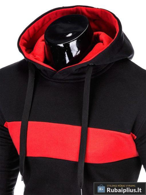 """madingas Juodas vyriškas džemperis """"Log"""" internetu pigiau"""