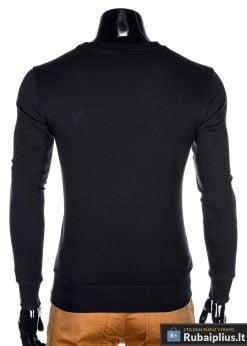 trispalvis stilingas Juodas vyriškas džemperis