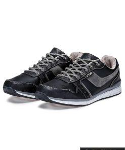 """Madingi Juodi laisvalaikio batai vyrams """"Vindo"""" internetu pigiau"""