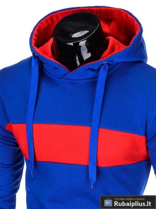 """madingas Mėlynas vyriškas džemperis """"Log"""" internetu pigiau"""
