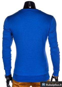 stilingas Vienspalvis Mėlynas vyriškas džemperis
