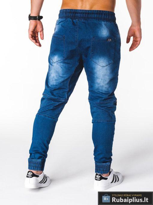 """jogger tipo Stilingi mėlynidžinsai vyrams""""Nurus"""" internetu pigiau"""