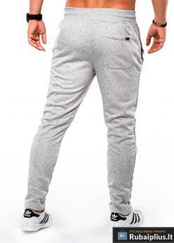 Stilingos Pilkos sportinės kelnės vyrams