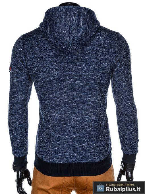 """madingas Tamsiai mėlynas vyriškas džemperis su gobtuvu """"Glamar"""" internetu pigiau"""
