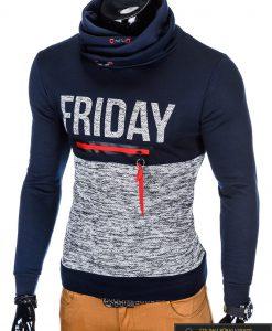 """stilingas Tamsiai mėlynas vyriškas džemperis """"Friday"""" internetu pigiau"""