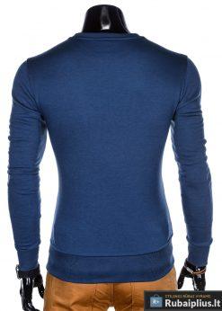 Vienspalvis Tamsiai mėlynas vyriškas džemperis
