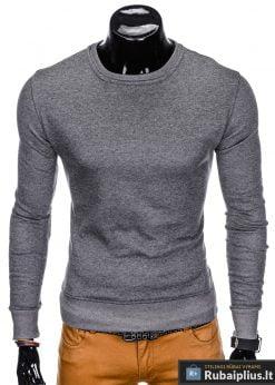 """vienspalvis Tamsiai pilkas vyriškas džemperis """"Rool"""" internetu pigiau"""