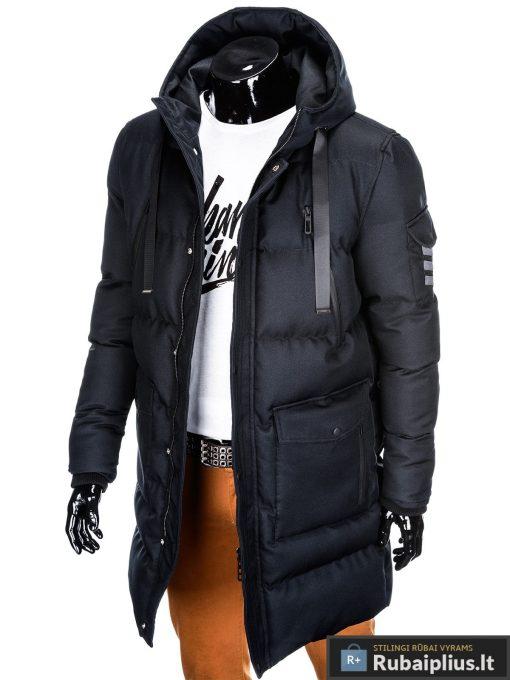 """stilinga Juoda žieminėvyriška striukė """"Halk"""" internetu pigiau"""