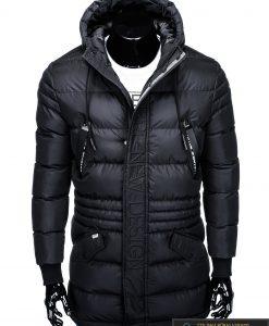 """stilinga Juoda žieminėvyriška striukė vyrams """"Vucan"""" internetu pigiau"""