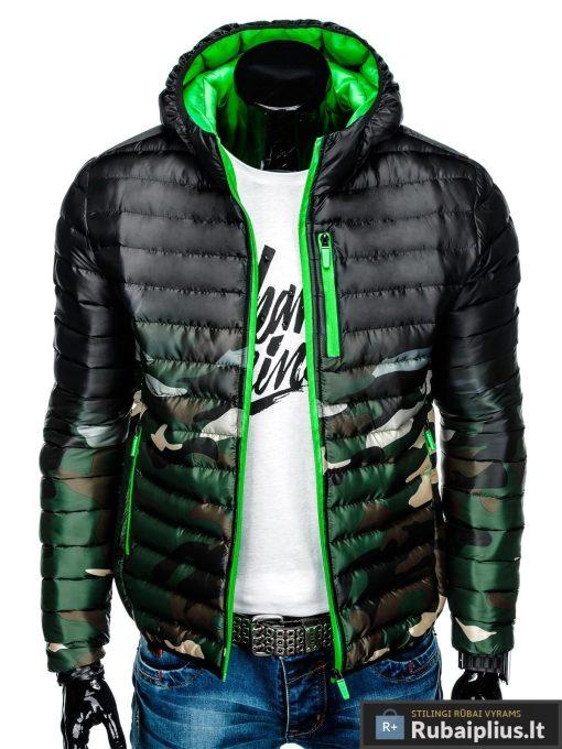"""stilinga Kamufliažinė žalia rudens-pavasario vyriška striukė vyrams """"Fure"""" internetu pigiau"""