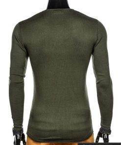 Madingas chaki vyriškas megztinis vyrams