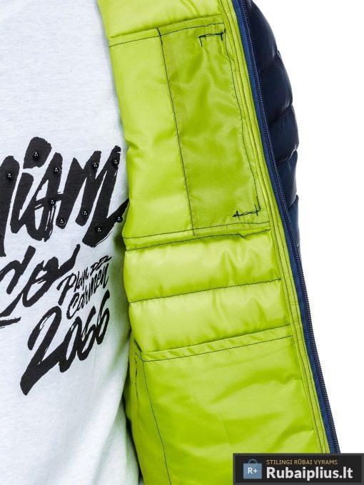 """stilinga Mėlyna-žalia rudens-pavasario vyriška striukė vyrams """"Fure"""" internetu pigiau"""
